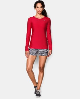 Women's UA HeatGear® Armour Long Sleeve  1 Color $26.99