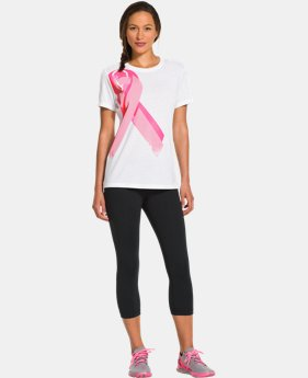 Women's UA Power In Pink® Ribbon T-Shirt  1 Color $17.99