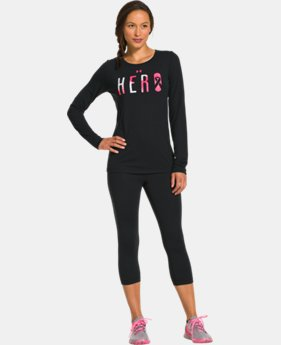 Women's UA Power In Pink® Hero Long Sleeve