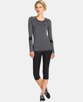 Women's UA HeatGear® Armour Novelty Long Sleeve  1 Color $25.99