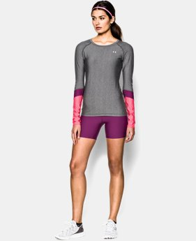 Women's UA HeatGear® Armour Novelty Long Sleeve