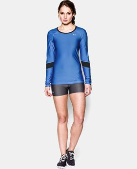 Women's UA HeatGear® Armour Color Block Long Sleeve  1 Color $20.99