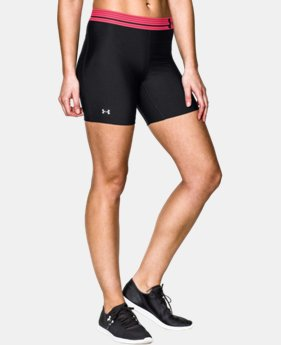 Women's UA HeatGear® Armour Middy  3 Colors $17.99