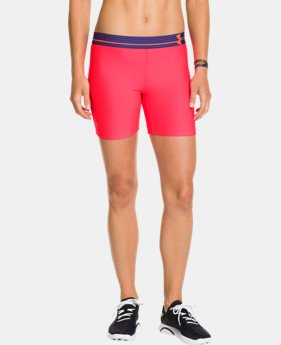 Women's UA HeatGear® Armour Middy LIMITED TIME: FREE U.S. SHIPPING 1 Color $13.49