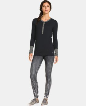 Women's ColdGear® Infrared Henley  3 Colors $44.99