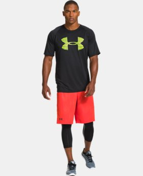 Men's UA Core Broken Stripe Logo T-Shirt