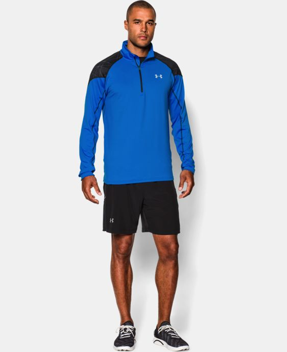 Men's UA ColdGear® Infrared Run ½ Zip   $44.99