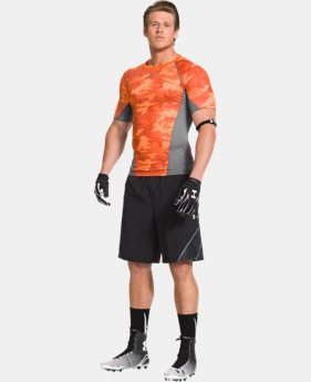 Men's UA Army Of 11 Football Short Sleeve Compression Shirt   $33.99