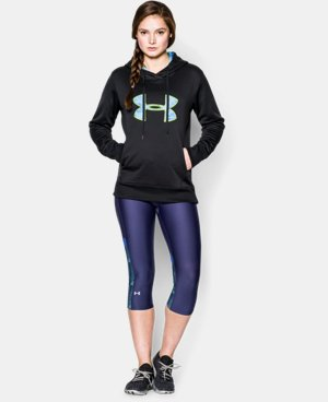 Women's UA Big Logo Applique Hoodie  1 Color $30.74 to $31.49