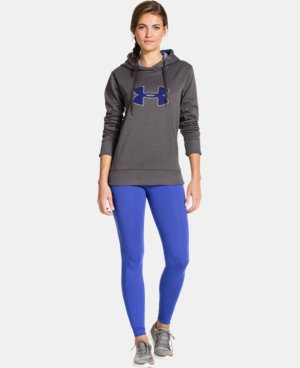Women's UA Big Logo Applique Hoodie LIMITED TIME: FREE U.S. SHIPPING 3 Colors $30.74 to $40.99