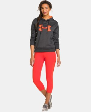 Women's UA Big Logo Applique Hoodie LIMITED TIME: FREE U.S. SHIPPING 3 Colors $30.74 to $32.99