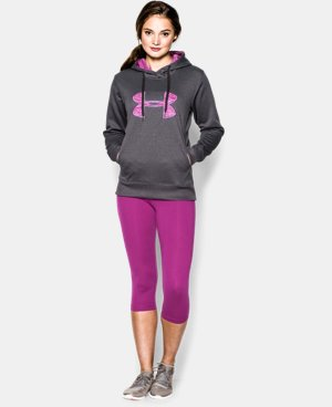 Women's UA Big Logo Applique Hoodie LIMITED TIME: FREE U.S. SHIPPING  $30.74 to $32.99
