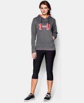 Women's UA Big Logo Applique Hoodie  1 Color $32.99 to $41.99