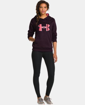 Women's UA Big Logo Applique Hoodie LIMITED TIME: FREE U.S. SHIPPING 1 Color $30.74 to $32.99