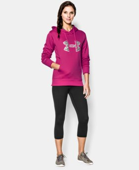 Women's UA Big Logo Applique Hoodie LIMITED TIME: FREE U.S. SHIPPING 2 Colors $30.74 to $32.99