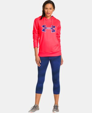 Women's UA Big Logo Applique Hoodie LIMITED TIME: FREE U.S. SHIPPING 2 Colors $30.74 to $40.99