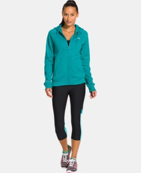 Women's Armour® Fleece Full Zip Hoodie