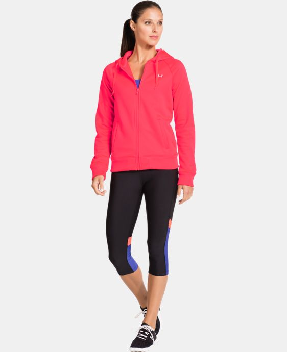 Women's Armour® Fleece Full Zip Hoodie LIMITED TIME: FREE U.S. SHIPPING 2 Colors $38.99 to $48.99