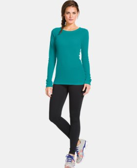 Women's UA Cozy Waffle Long Sleeve LIMITED TIME: FREE U.S. SHIPPING 3 Colors $17.99 to $27.99