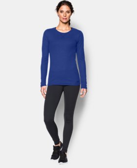 Women's UA Cozy Waffle Long Sleeve  1 Color $17.99 to $29.99