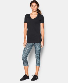 Women's UA Long & Lean V-Neck  1 Color $23.99