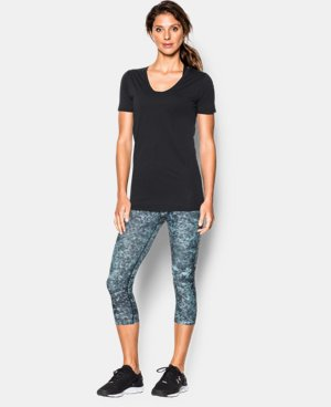 Women's UA Long & Lean V-Neck  1 Color $17.99