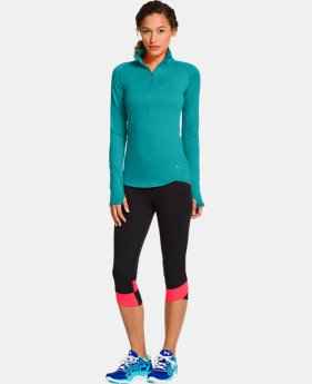 Women's UA Qualifier ½ Zip  1 Color $44.99