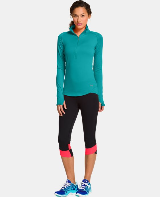 Women's UA Qualifier 1/2 Zip LIMITED TIME: FREE U.S. SHIPPING 1 Color $44.99