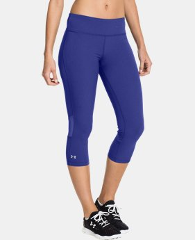 Women's UA Stunner Stretch Woven Capri LIMITED TIME: FREE U.S. SHIPPING 1 Color $35.99 to $44.99