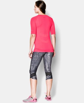 Women's UA Run Seamless ¾ Sleeve