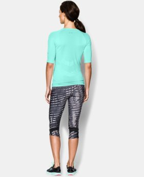 Women's UA Run Seamless 3/4 Sleeve LIMITED TIME: FREE U.S. SHIPPING 1 Color $40.99