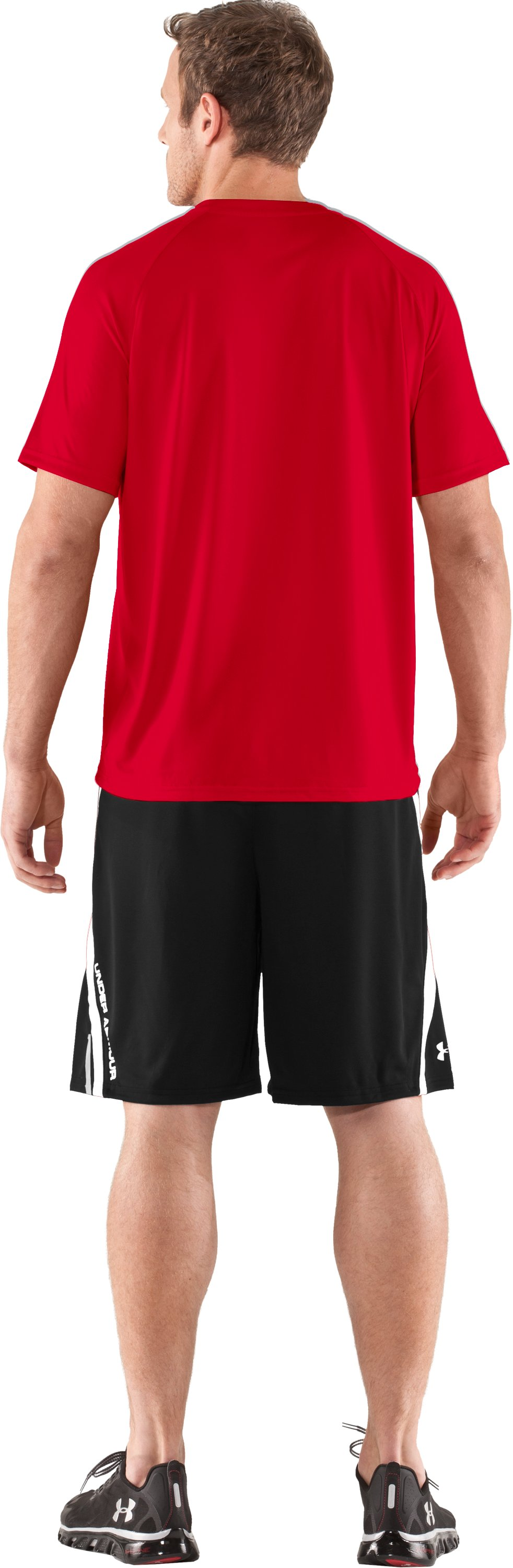 Men's Under Armour® Alter Ego Superman T-Shirt, Red, Back