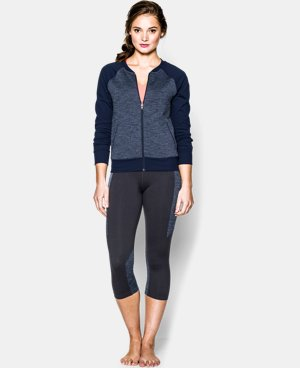 Women's UA StudioLux® Bomber Jacket LIMITED TIME: FREE U.S. SHIPPING 1 Color $71.99