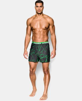 Men's UA Original Series Printed Boxer Shorts  1 Color $17.24