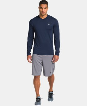 Men's UA ColdGear® Infrared V-Neck  1 Color $27.74 to $28.49