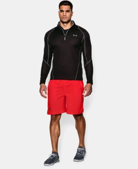 Men's UA ColdGear® Infrared Grid ¼ Zip Mock  1 Color $41.99