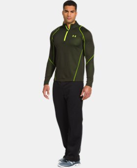 Men's UA ColdGear® Infrared Grid ¼ Zip Mock