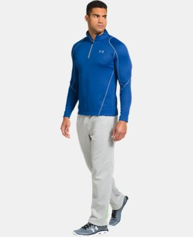 Men's UA ColdGear® Infrared Grid ½ Zip Mock   $47.99