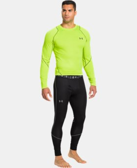 Men's UA ColdGear® Infrared Grid Leggings