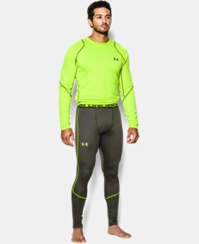 Men's UA ColdGear® Infrared Grid Leggings LIMITED TIME: FREE U.S. SHIPPING 2 Colors $44.99