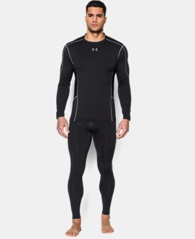 Men's UA ColdGear® Evo Compression Hybrid Mock LIMITED TIME: FREE U.S. SHIPPING 1 Color $35.99
