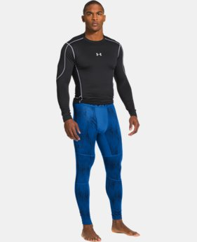 Men's UA ColdGear® Evo Printed Compression Leggings LIMITED TIME: FREE U.S. SHIPPING 2 Colors $44.99