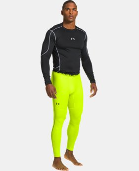 Men's UA ColdGear® Evo Printed Compression Leggings LIMITED TIME: FREE U.S. SHIPPING 1 Color $44.99