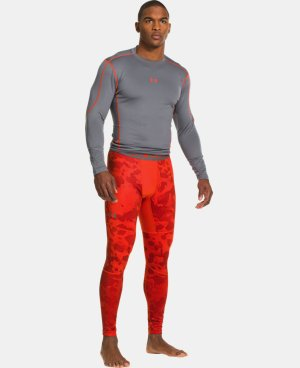 Men's UA ColdGear® Evo Printed Compression Leggings LIMITED TIME: FREE U.S. SHIPPING 4 Colors $44.99