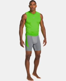 Men's UA HeatGear® ArmourVent™ Perf Compression Shorts