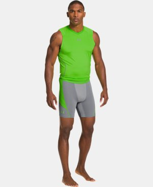 Men's UA HeatGear® ArmourVent™ Perf Compression Shorts  1 Color $23.99