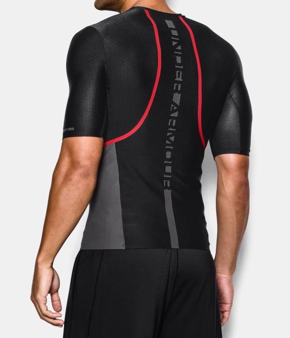 men s ua clutchfit half sleeve compression t shirt