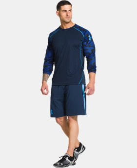 Men's UA Combine® Training Contrast Long Sleeve T-Shirt