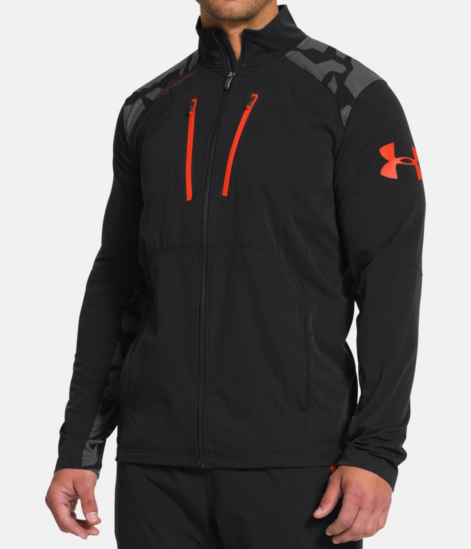 men s ua combine training storm tundra woven jacket under armour us. Black Bedroom Furniture Sets. Home Design Ideas