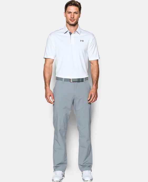 Men's UA Leaderboard Polo LIMITED TIME OFFER + FREE U.S. SHIPPING  $29.99